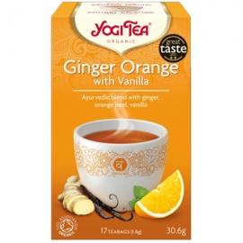 Йоги чай Джинджифил, портокал и ванилия 17 пак. 30,6g