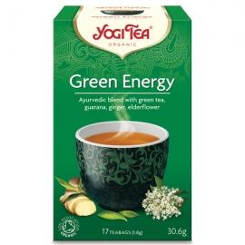 Йоги чай Зелена енергия 15 пак. 30g