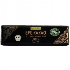 Шоколад черен 85% какао Rapunzel 20 гр. БИО