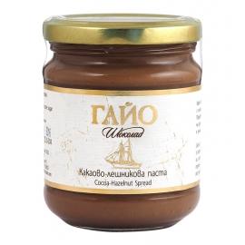 """Био какаово-лешникова паста на """"Гайо"""", 200гр"""