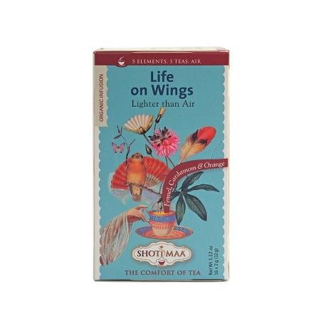 """Чай """"Живот на криле"""" с копър, кардамон и портокал"""
