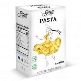 Безглутенова паста макарони 400гр Sotelli