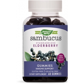 Самбукус Гъми 25 mg Nature's Way