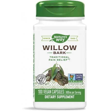 Бяла върба (кора ) 400 mg х 100 капс. Nature's Way