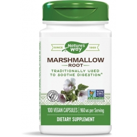 Бяла ружа (корен) 480 mg x 100 капс. Nature's Way