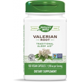 Валериана (корен) 530 mg х 100 капс. Nature's Way