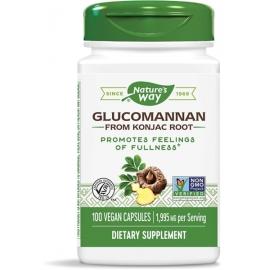 Глюкоманан / Картофена палма (корен) 665 mg Nature's Way