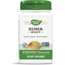Женшен бразилски / Сума (корен) 500 mg Nature's Way