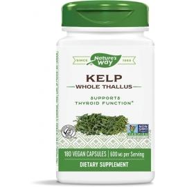 Келп (кафяви водорасли) 600 mg x 180 капс. Nature's Way