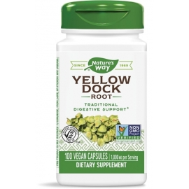 Лапад къдрав (корен) 500 mg Nature's Way