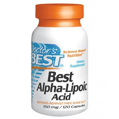Алфа липоева киселина 150мг, 120кап