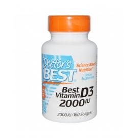 Витамин D3 180кап 2000IU