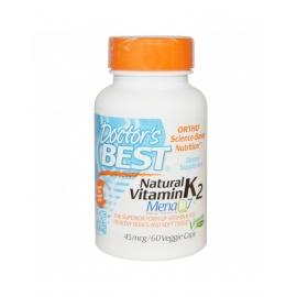 Натурален витамин К2 с МК7 45мкг 60кап
