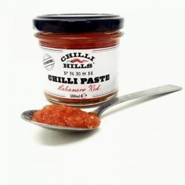 Паста от прясна люта чушка Habanero Red 130мл Чили Хилс