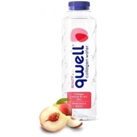 Безалкохолна напитка Qwell Праскова - Колагенна вода