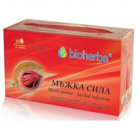 Чай Мъжка Сила 20 филтъра Биохерба