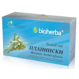 Билков чай Планински 20 филтъра Биохерба