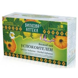 Успокоителен билков чай 20 филтъра Биохерба