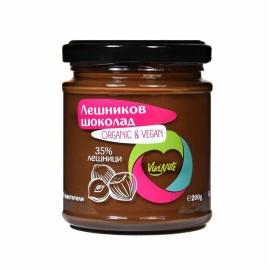Лешников шоколад веган 200гр