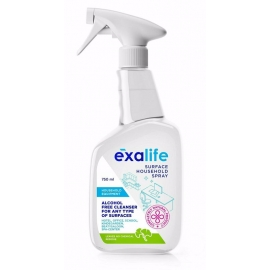 Повърхностен домакински спрей с антибактериално действие 750мл Exalife