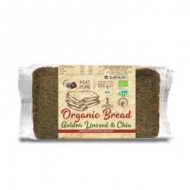 БИО немски хляб с чиа и ленено семе PN 350г