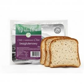 Безглутенов хляб със семена от чиa 350г