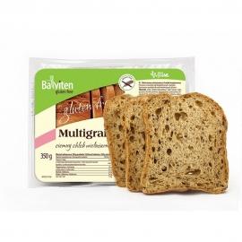 Безглутенов многозърнест тъмен хляб с елда 350 г
