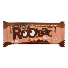 БИО Roobar бадемов бар покрит с шоколад 30г