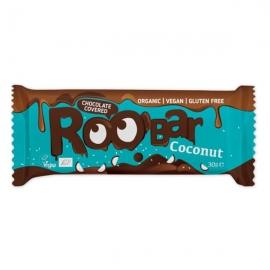 БИО Roobar кокосов бар покрит с шоколад 30г