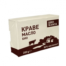 БИО Краве масло, 82% масленост 200g