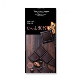 БИО Веган шоколад натурален 90%, 70г