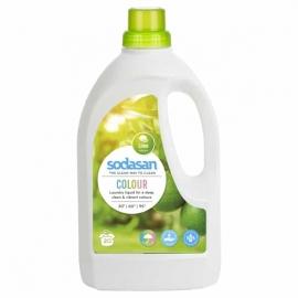 Течен перилен препарат за цветно пране 1,5 л Sodasan