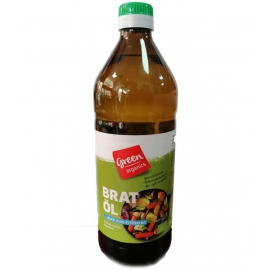 Био Слънчогледово олио за пържене Green 750 ml