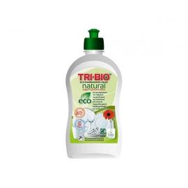 Натурален еко течен препарат за миене на съдове, суперконцентрат, 420 мл. Tri-bio