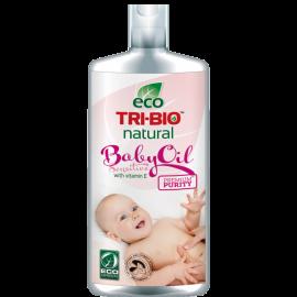 Натурално бебешко олио с Витамин Е за чувствителна кожа 200 ml TRI-BIO