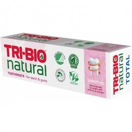 Натурална еко паста за зъби Sensitive, 75 мл Tri-bio