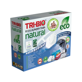 "Натурални еко капсули за пране ""бебе"", 14 капсули Tri-bio"
