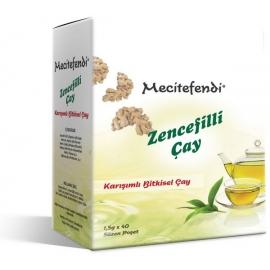 Билков чай с джинджифил, 40 пак. Мecitefendi