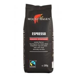 Био мляно кафе без кофеин 250гр. Mount Hagen