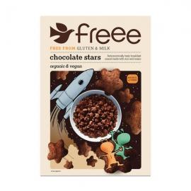 Шоколадови звездички Без глутен 300 гр. Doves Farm