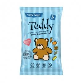 Био Печен царевичен снакс с морков и тиква Teddy 30 гр.