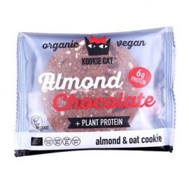 Био Курабийка с протеин и черен шоколад Kookie Cat 50 g