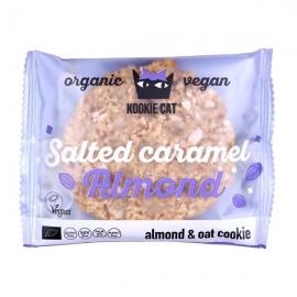 Био Курабийка Карамелизирани солени бадеми 50g Kookie Cat