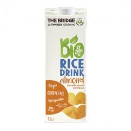 Био оризова напитка с бадеми The Bridge 1л