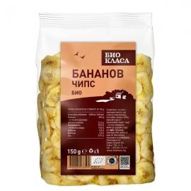 Био Бананов чипс 150g Био Класа
