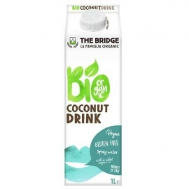 Био напитка кокосова без глутен 1л. The Bridge