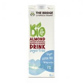 Напитка с бадеми 3% без глутен и без захар 1л The Bridge