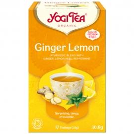 Йоги чай лимон и джинджифил 17пак