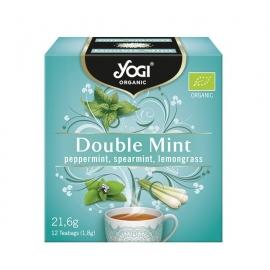 Чай двойна мента 12 пак Yogi Organic