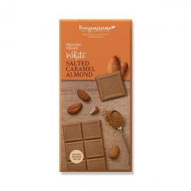 Веган бял шоколад Солен бадем 70 g Benjamissimo